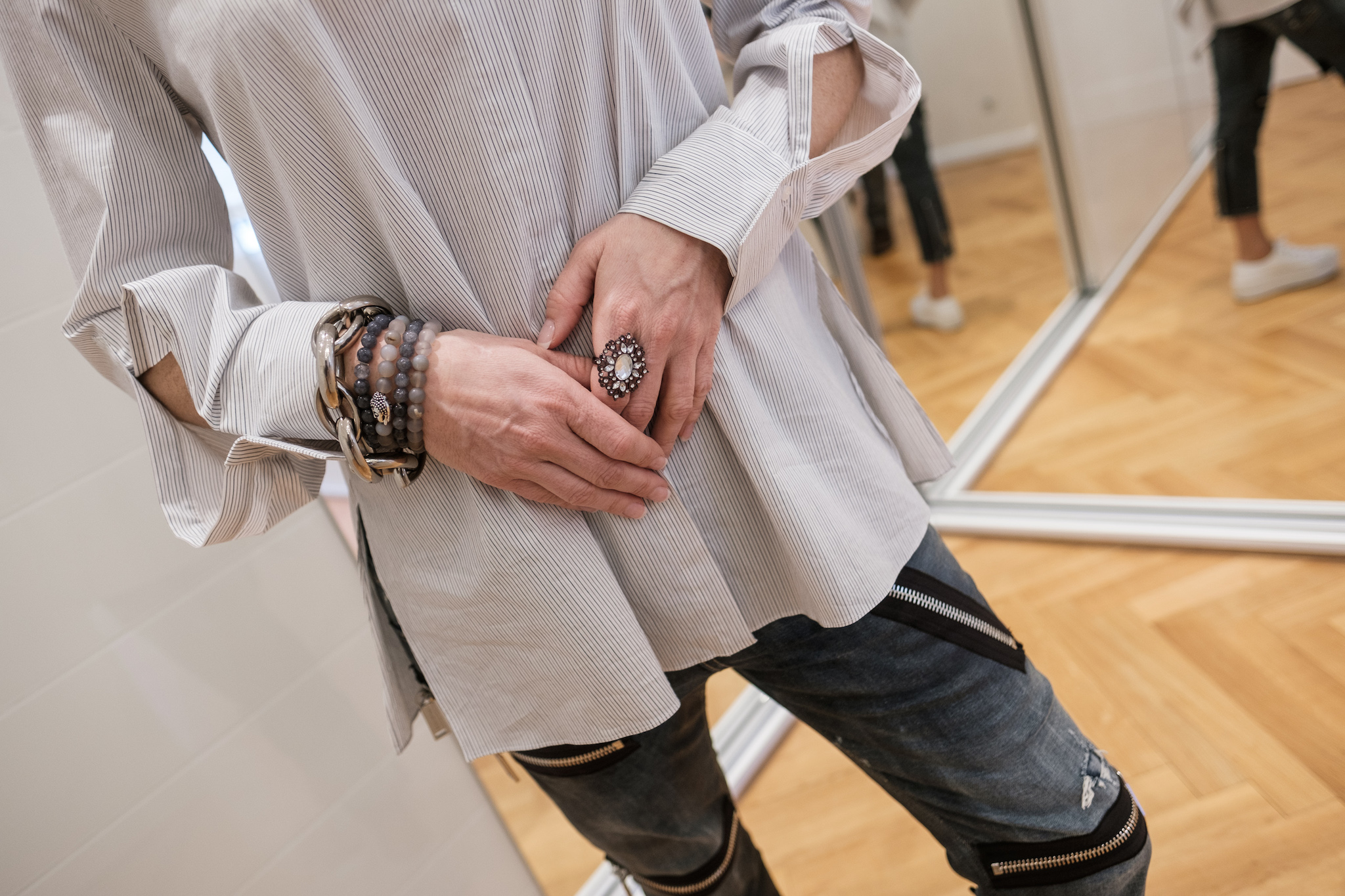 Dorothee Schumacher Bluse gestreift, Bluse gestreift mit tollen Details, dororthee Schumacher gestreifte Bluse, Fashion-Blog, Lieblingsstil.com,