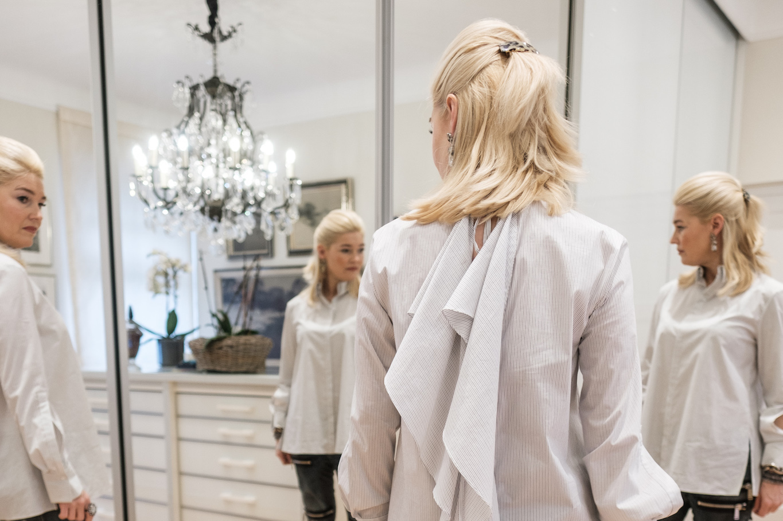 Preis bieten viel die beste Einstellung Dorothee Schumacher - eine wandelbare oversize Bluse zu ...