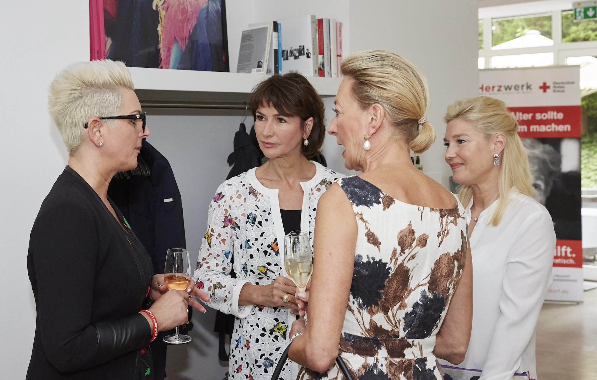 Herzwerk Ladies Lunch, Jasmin Schürgens, Dorothee Achenbach, Susanne Eickhoff, Petra Dieners, Indigo Hotel, Lifestyle-Blog, Lieblingsstil.com,