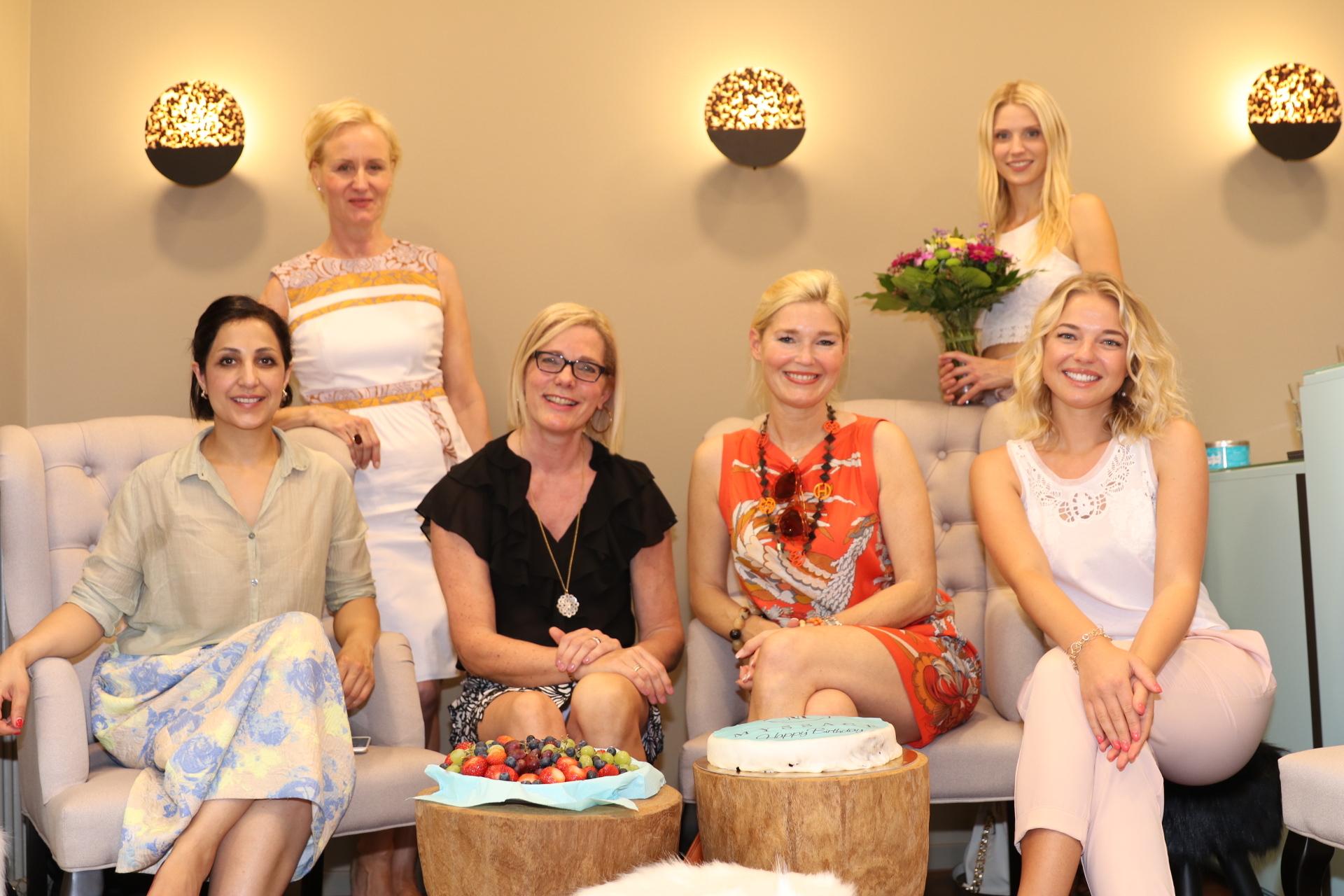 Myssage Damentreff, Laila Hamidi, Marion Bock, Gudrun Garces, Petra Dieners, Carina Birnbacher, Stefanie Seiffert, Lifestyle-Blog, Lieblingsstil.com,