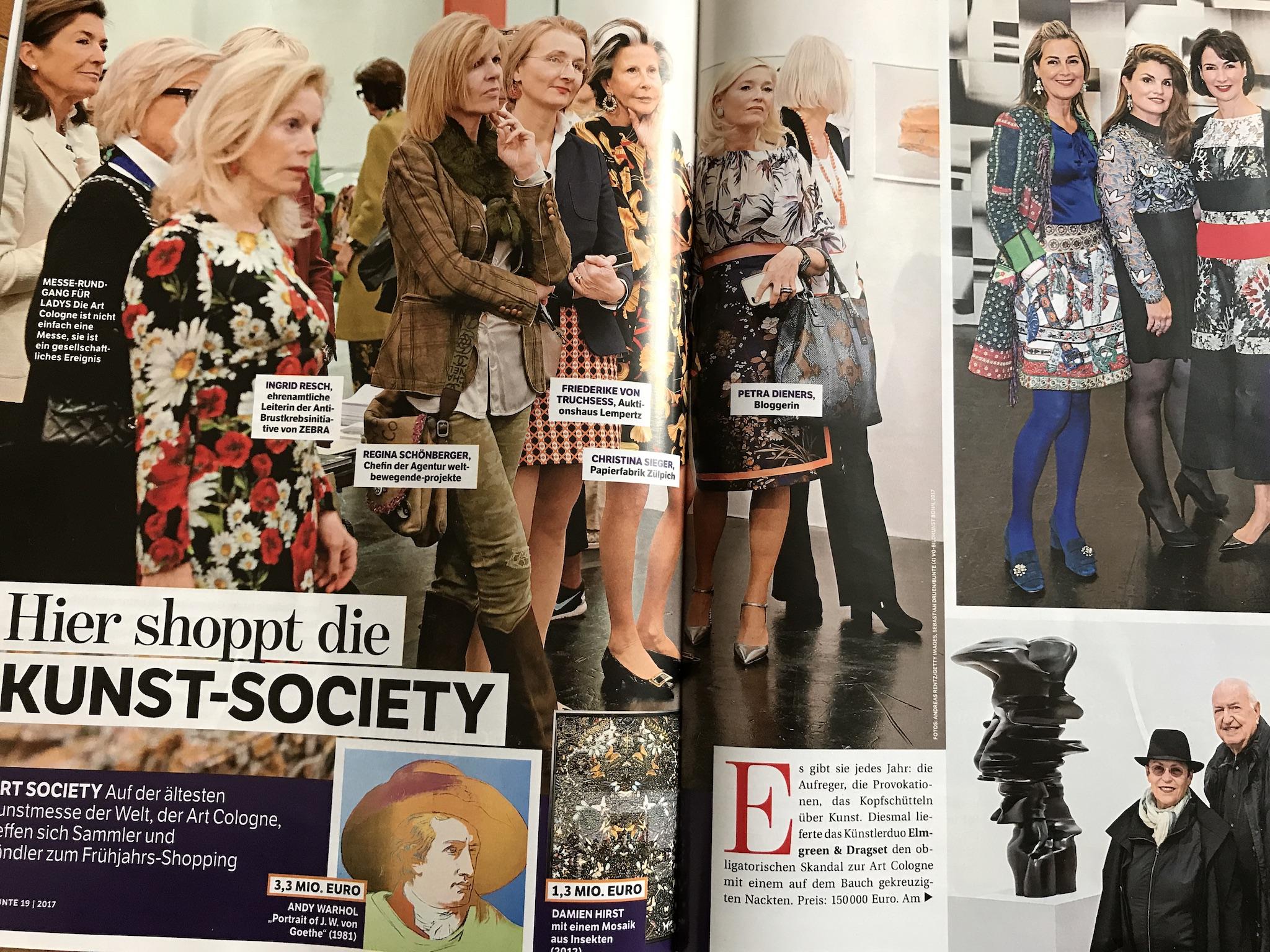 Petra Dieners Bloggerin, Bunte.de, Ar Cologne Ladies Lunch, Fashion-Blog, Lieblingsstil.com,