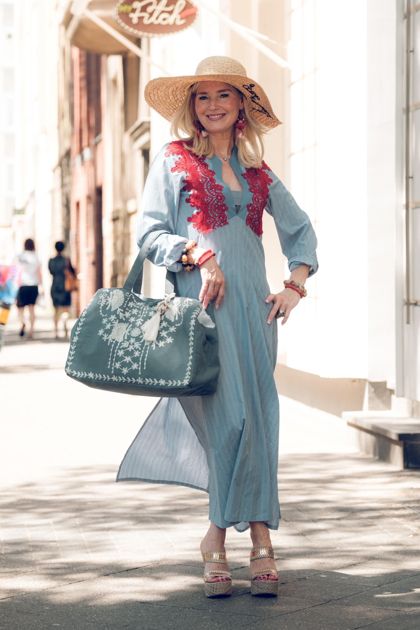 I&I Beautiful Dresses, Debbie Katz Tasche, hatattack Hut, Fashion-Blog, Lieblingsstil, com