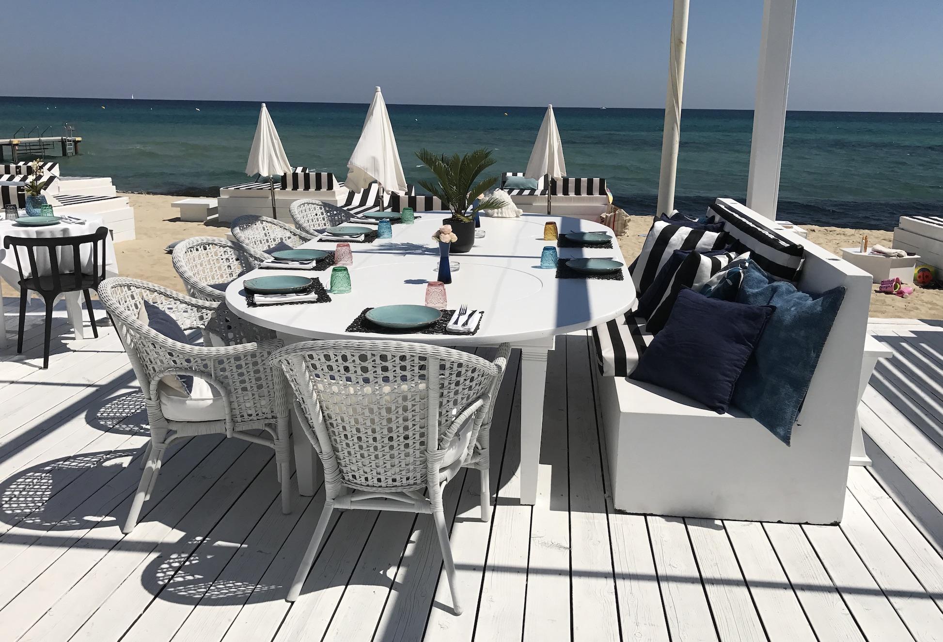 Maison Bianca Saint Tropez, Maison Bianca Pampelonne, Maison Bianca St. Tropez, stylish beach club Saint Tropez, Lifestyle-Blog, Lieblingsstil.com,