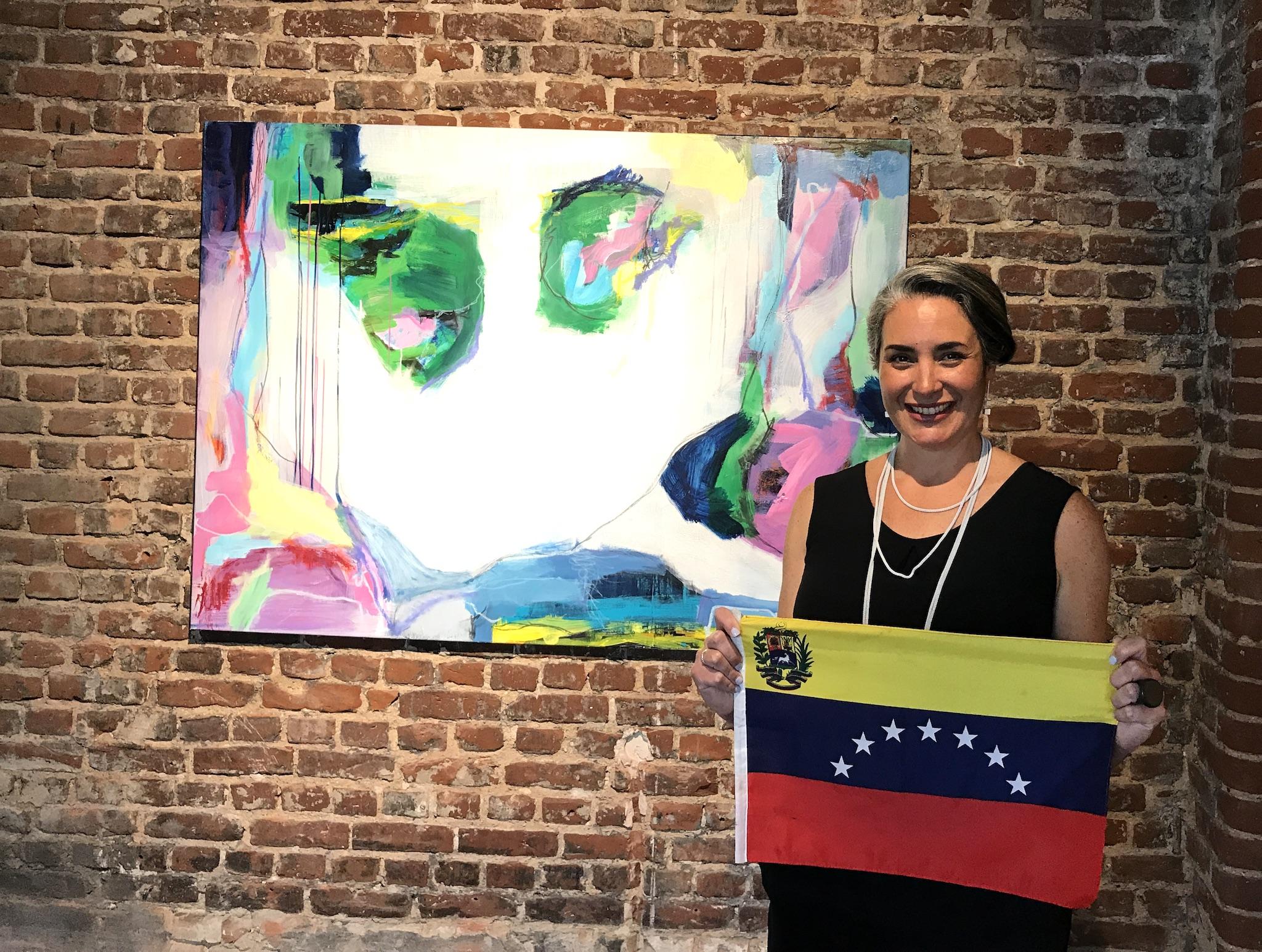 Marisabel Gonzales artist, Gallery Ariane Paffrath, Lifestyle-Blog, Lieblingsstil.com,