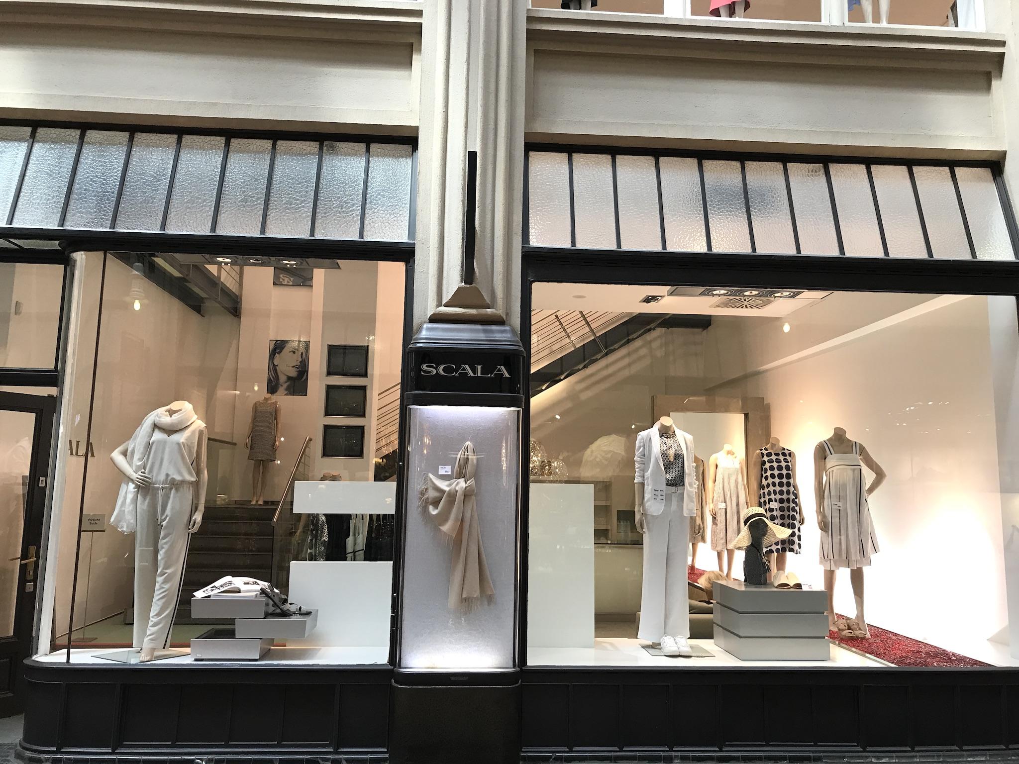 Scala Leipzig, Shopping Leipzig, exklusive Mode Leipzig, Designermode Leipzig, Einkaufen Leipzig, Fashion-Blog, Lieblingsstil.com,
