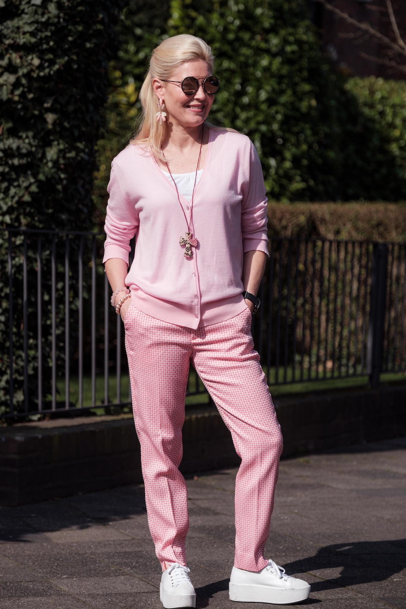 Semperlei, Sem Per Lei Hose rosa, Fashion-Blog, Lieblingsstil.com,