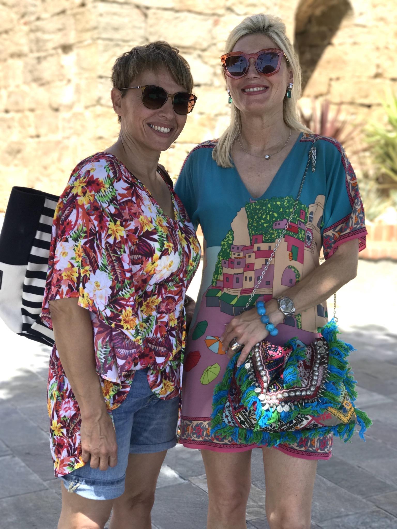 Tunika Aubade, Jeans Shorts Marc´O Polo, Seidenkelid St. Tropez, Fashion-Blog, Lieblingsstil.com,