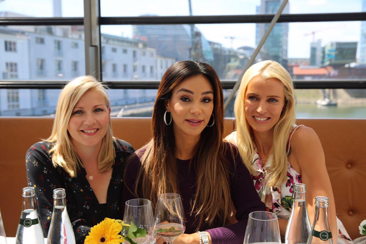 Aleksandra Bechtel, Verona Pooth, Dr. Birte Prange, DKMS LIFE Ladies Lunch Düsseldorf, Lifestle-Blog, Lieblingsstil.com ,