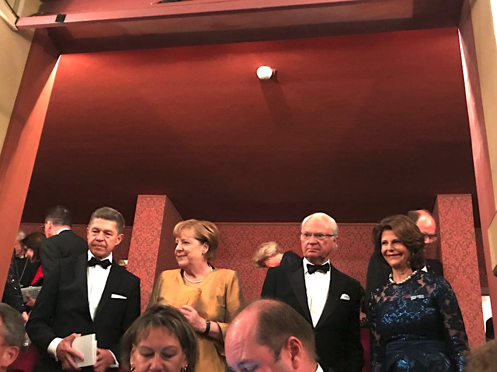 Angela Merkel Wagner Festspiele, Merkel Bayreuther Festspiele, Königin Sylvia Bayreuth, König Carl Gustav Bayreuth, Premiere Wagner Festspiele, Lifestyle-Blog, Lieblingsstil.com,