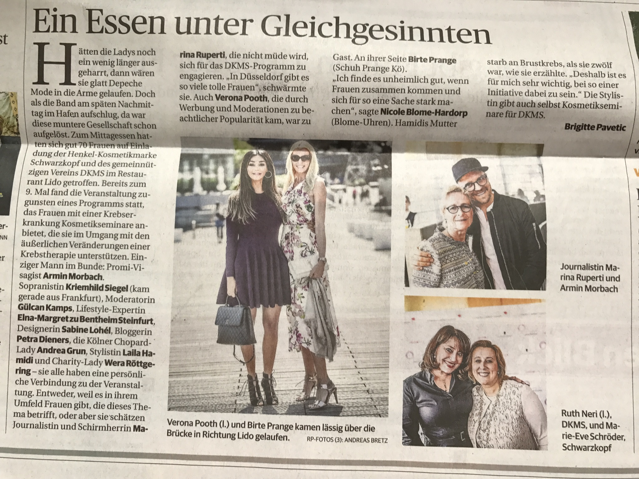 DKMS Ladies Lunch, DKMS Life, Rheinische Post DKMS Life Ladies Lunch Düsseldorf, Lifestyle-Blog, Lieblingsstil.com,