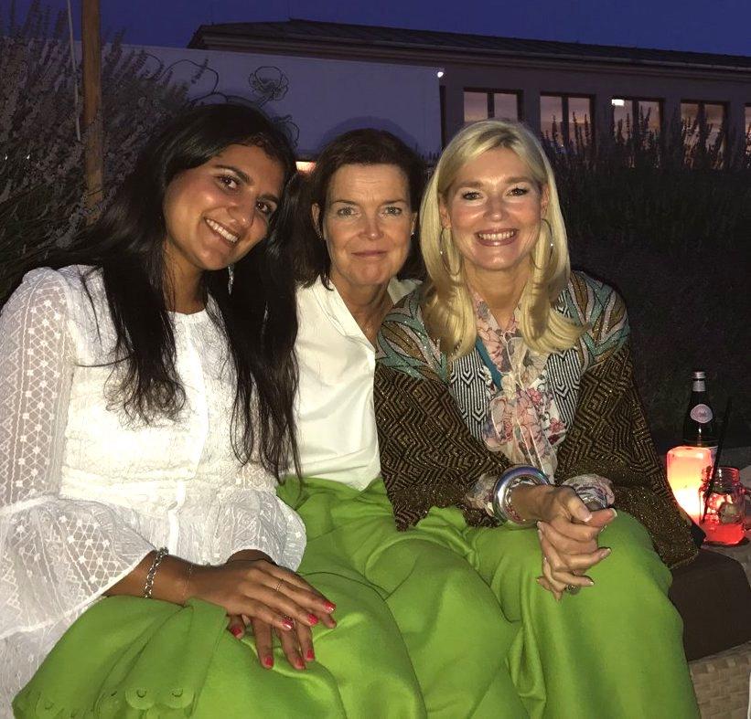 Deutsche Modedeisgner Team, Sophie Arbab-Zadeh, Dr. Anja Hermes, Petra Dieners, Hotel de Rome Dachterrasse, Lifestylr-Blog, Lieblingsstil.com,