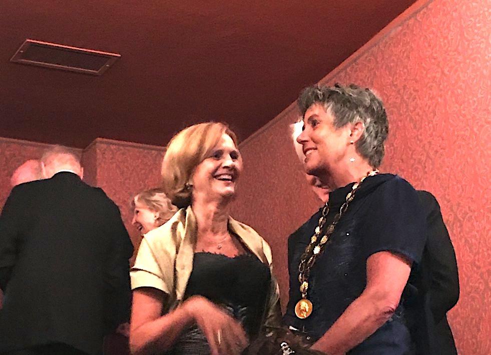 Karin Seehofer, Briggite Merk -Erbe Oberbürgermeisterin Bayreuth, Wagner Festspiele Premiere, Bayreuther Festspiele Premiere, Lifestyle-Blog, Lieblingsstil.com,