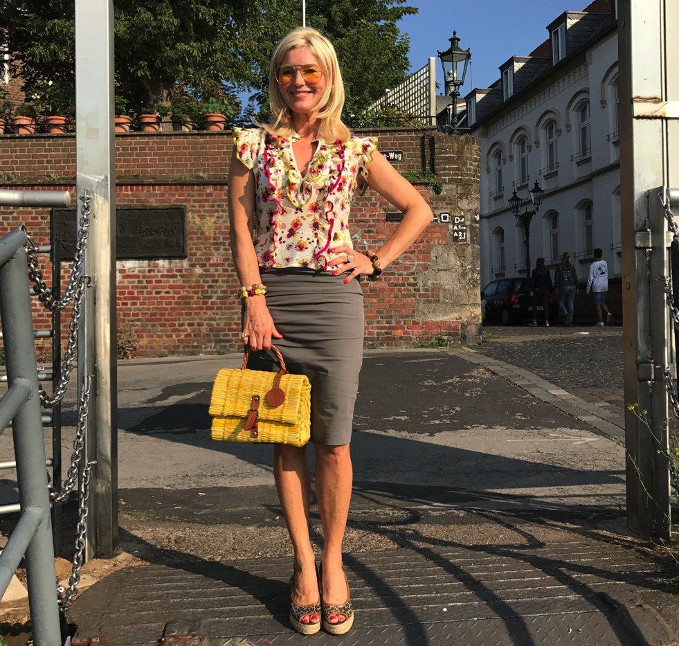 AnnAdam Bluse, Anna Adam Bluse, Rüschenbluse, Rüschenseidenbluse, Bluse Seide Rüschen, Fashion-Blog, Lieblingsstil.com,