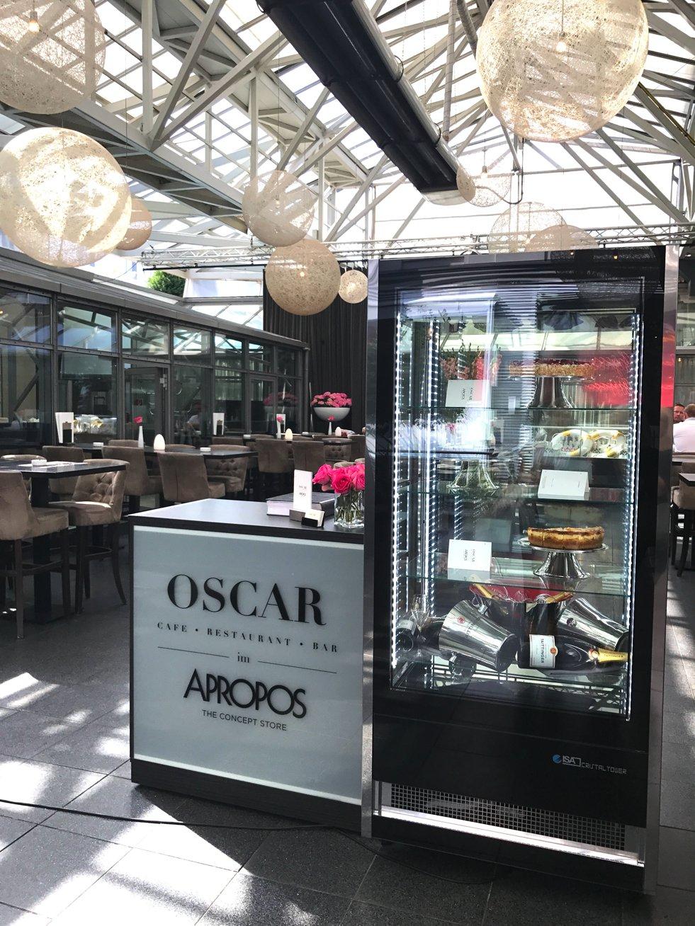 OSCAR im APROPOS, Oscar restaurant Köln, Oscar Cafe Mittelstraße, Lifestyle-Blog, Lieblingsstil.com,
