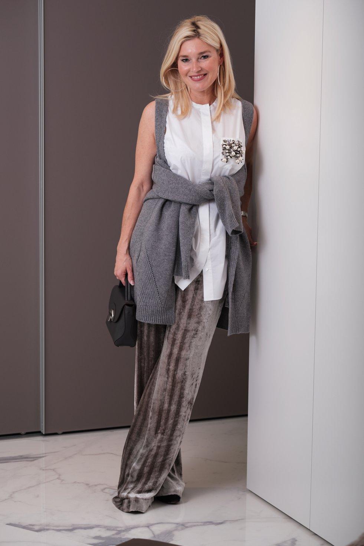 Petra Dieners in Dorothee Schumacher Outfit, Hetkamp Mode Raesfeld, Dorothee Schumacher Style, Fashion-Blog, Lieblingsstil.com,