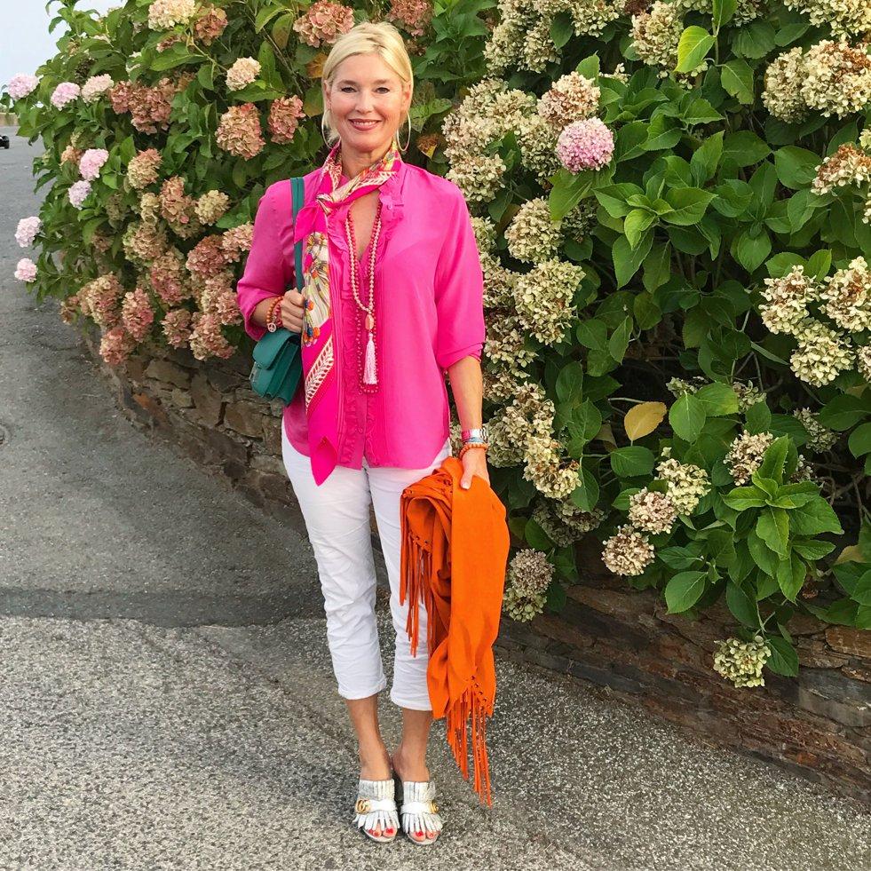 pink orange outfit, pink orange look, pink orange style, Fashion-Blog, Lieblingsstil.com,
