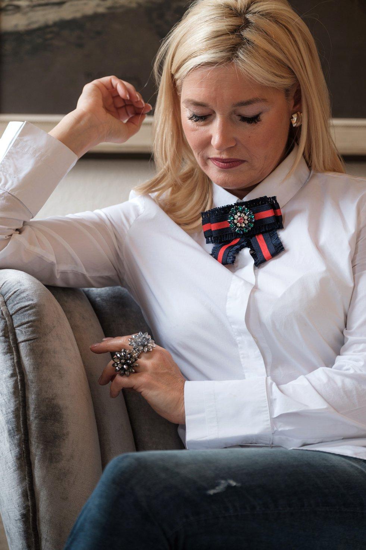 Brosche, Schleifenbrosche, Broschentrend, Brosche Trend, Fashion-Blog, Lieblingsstil.com, Petra Dieners,