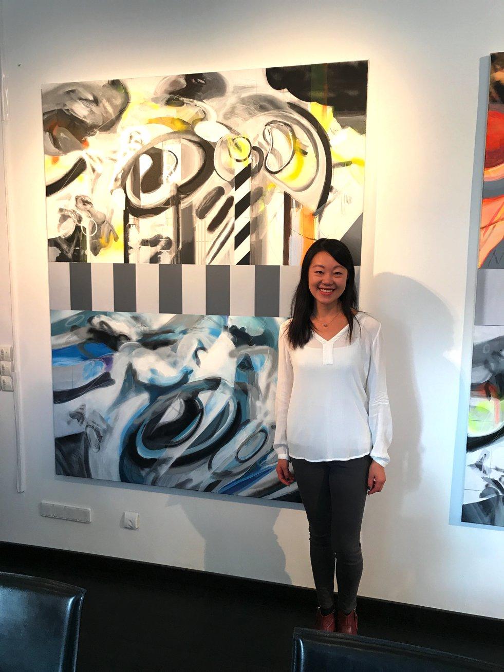 Ce Jian Künstlerin, Ce jian Chinesische Künstlerin, Chinesischer Kunstlunch, Lifestyle-Blog, Lieblingsstil.com,