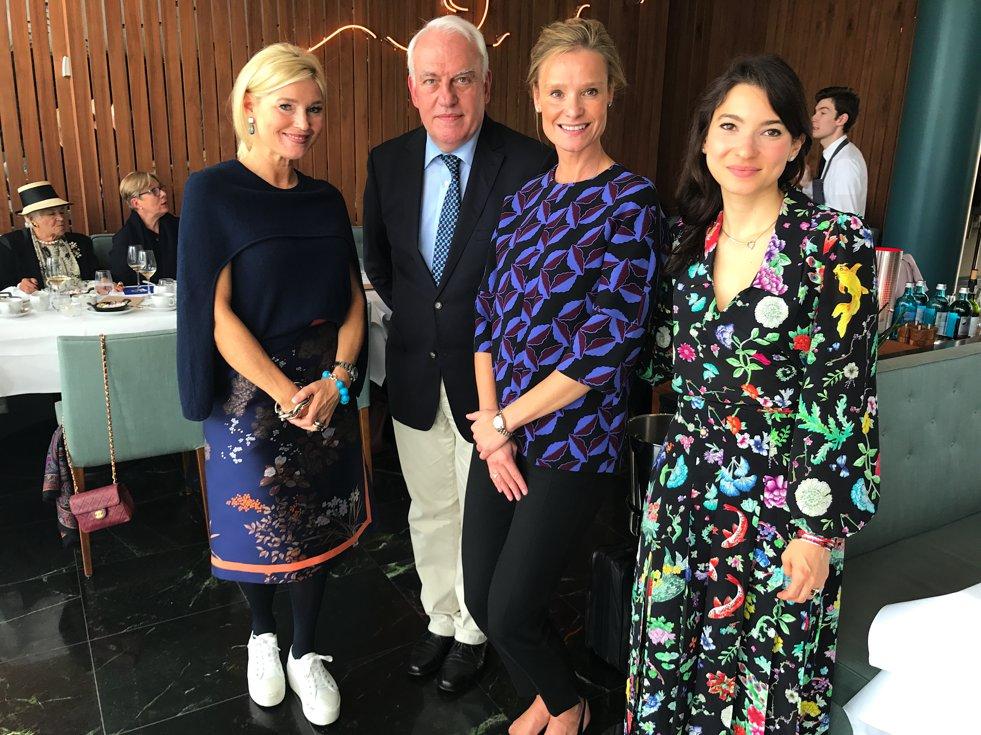 Christie´s Ladies Lunch, Petra Dieners Bloggerin, Frederik Schwarz Christie´s, Gudrun Dröghoff, Rachel Koffsky, Lifestyle-Blog, Lieblingsstil.com,