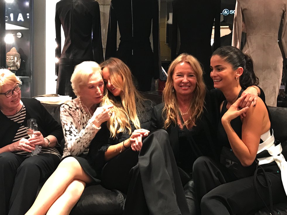 Kimi Hammerström,Evi Hammerström, Shermine Shahrivar, Jades Vogue Fashion Night, Fashion-Blog, Lieblingsstil.com,