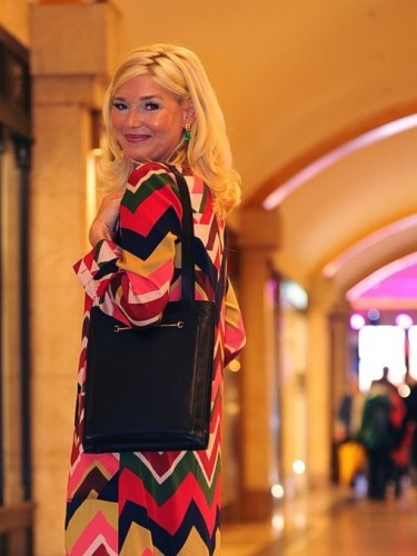 Petra Dieners, Anni Carlsson Kleid, VFNO, Vogue Fashion Night Out Düsseldorf, Anni Carlsson langes Kleid, Fashion-Blog, Lieblingsstil.com,2,