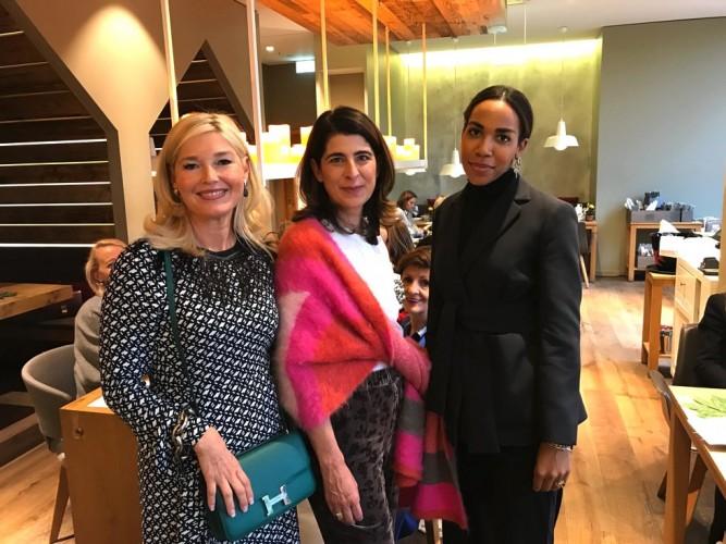 Petra Dieners, Dorothee Schumacher, Naomi Omamuli Emiko, Dorothee Schumacher Ladies Lunch, Fashion-Blog, Lieblingsstil.com,