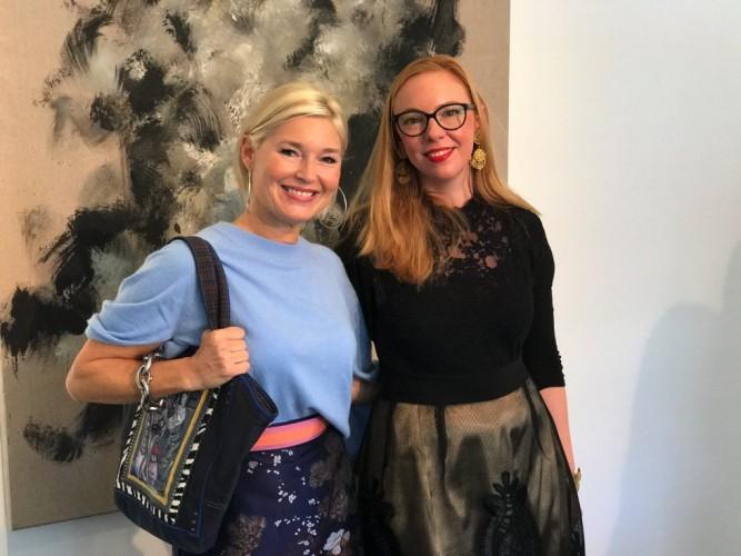 Petra Dieners, Leonie Spiekermann, Chinesische Kunst Düsseldorf, Chinesischer Kunstlunch, Lifestyle-Blog, Lieblingsstil.com,