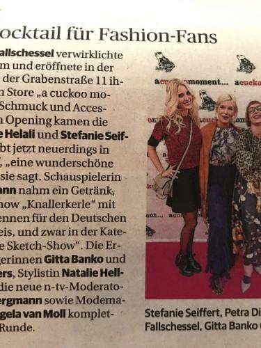 Rheinische Post, Brigitte Pavetic, Lieblingsstil.com,