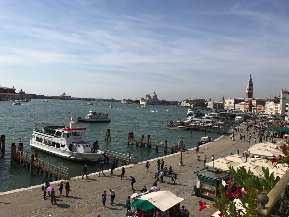 Blick aus dem Hotelzimmer Venedig, Hotel Gabriellei, Lifestyle-Blog, Lieblingsstil.com,