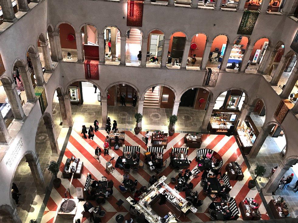 Fondaco dei Tedeschi Kaufhaus, Fondaco dei Tedeschi Department Store, Fashion-Blog, Lieblingsstil.com,