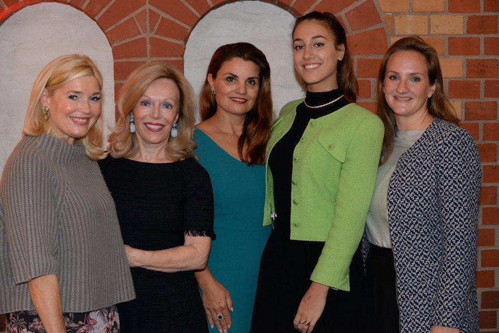 HSBC Event, Petra Dieners, Dr. Ingrid Resch Zebra, Dr. Corina Krawinkel, Michelle Krawinkel, Rebecca Luca, Lieblingsstil.com,