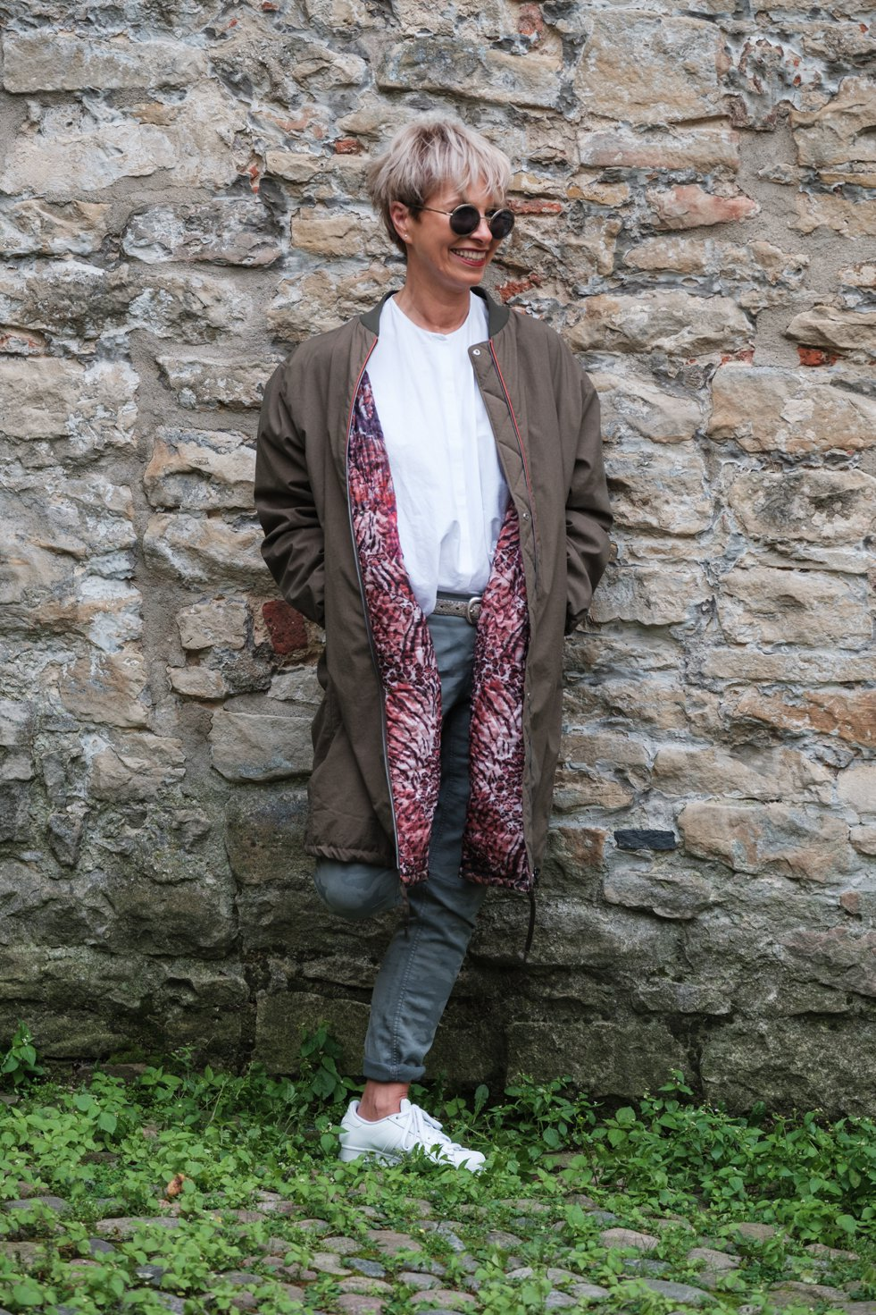 Hetkamp Mode, Brigitte Weltzel,Bomber Mantel, Blousonmantel, Fashion-Blog, Lieblingsstil.com,