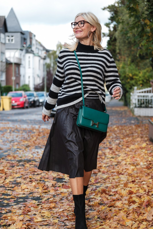 Laurel Fashion, Lautel Mode, Petra Dieners, Lautel Lederrock, Fashion-Blog, Lieblingsstil.com,