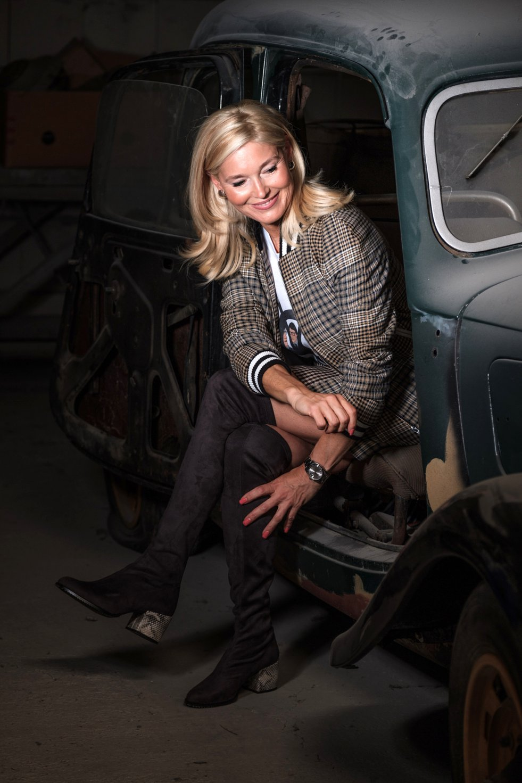 Petra Dieners, Cuplé Overknees, Maje blouson, Maje skirt, Fashion-Blog, Lieblingsstil.com,