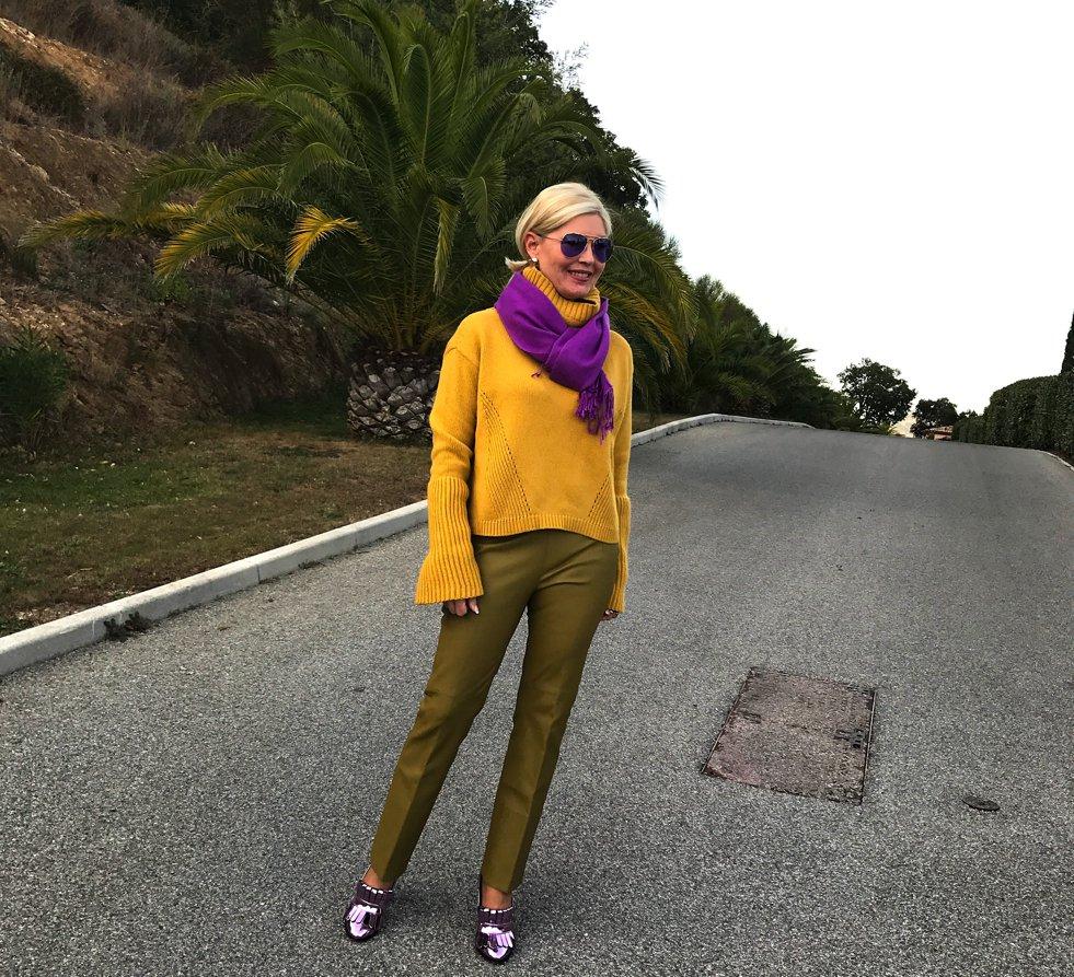 Petra Dieners, Dorothee Schumacher, Curry Kiwi Lila, Fashion-Blog, Lieblingsstil.com,