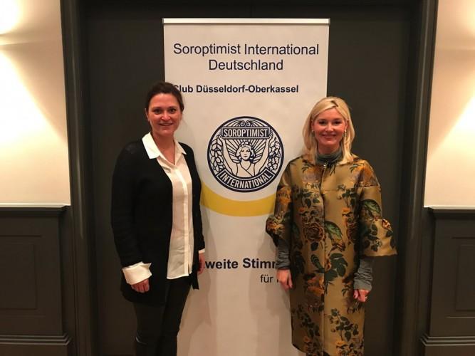 Daniela Marx, Petra Dieners, Industrie Club Düsseldorf, Soroptimist Düsseldorf-Oberkassel, Lifestyle-Blog, Lieblingsstil,