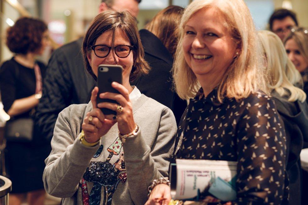 Judith Moritz, Beatrice Seier, Aigner-Event, Lieblingsstil.com,