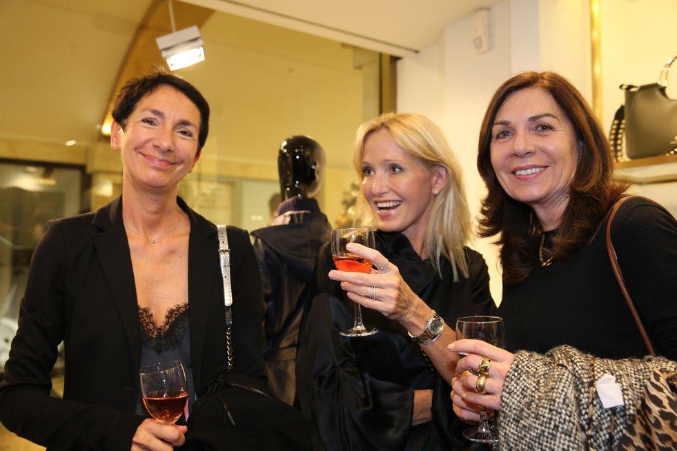 Marion Raddatz, Madeleine Holst-Gydesen, Petra Sandvoss, Aigner Event Düsseldorf, Lieblingsstil.com, JPG