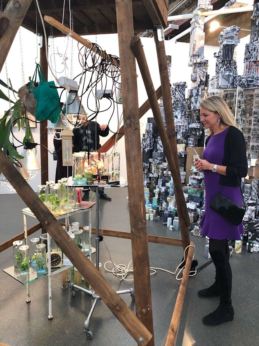 Nicole Blome-Hardorp, Art Düsseldorf, Klaus Fritze Installation, Galerie Brigitte Schenk, Lifestyle-Blog, Lieblingsstil.com,