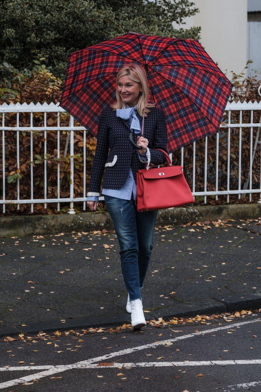 Petra Dieners, Blazer kombinieren, Blazer Styling, Club Blazer, Gucci Blazer, white boots, weiße Stiefel, Fashion-Blog, Lieblingsstil.com,