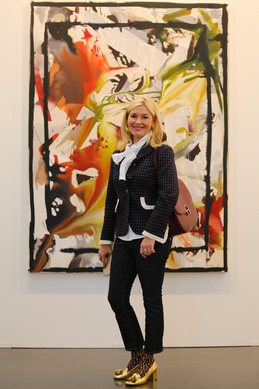 Petra Dieners, art Düsseldorf, Blazer und Schluppenbluse, Blazer Styling, Gucci Blazer, Fashion-Blog, Lieblingsstil.com,