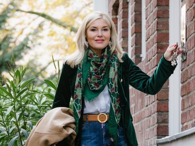 Stiefel über Hose tragen NYC Style | Oceanblue Style Blog Ü50